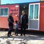 انجمن ساختمان سازان ایرانی-کانادایی(ICBA) تهیه ۲۰ کانکس را برای هموطنان زلزله زده توسط